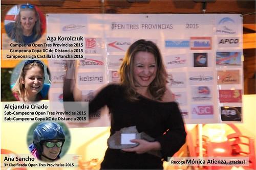 2015. Entrega de premios. Encuentro y Open 2015