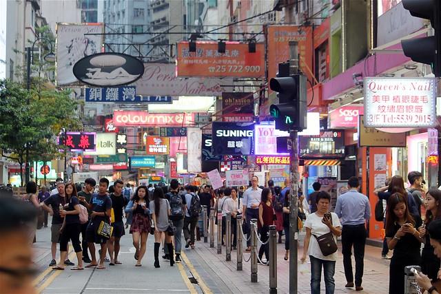 Shopping at Causeway Bay
