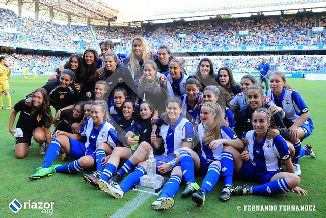 Teresa Herrera. Depor Femenino vs Villarreal Femenino