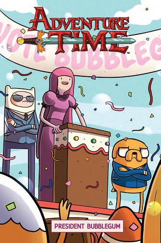 29478712122_6a0eb64969 ComicList Preview: ADVENTURE TIME VOLUME 8 PRESIDENT BUBBLEGUM GN