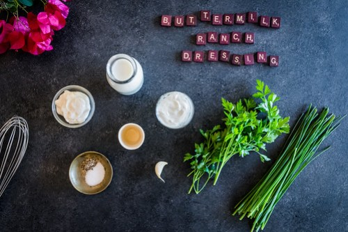 buttermilk ranch dressing is simple and easy to make