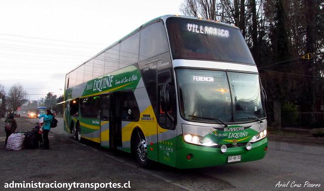 Buses Liquiñe | Lican Ray | Busscar Panorâmico DD - Mercedes Benz / BDHB33