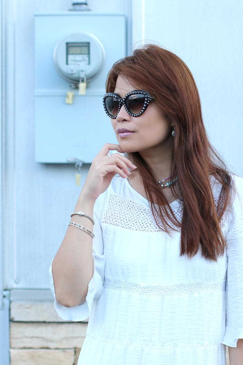 white-dress-studded-prada-sunglasses-lagos-bracelet-tiffany-bracelet-5