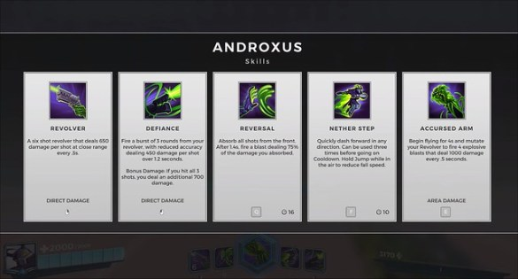 Paladins - Androxus Skills