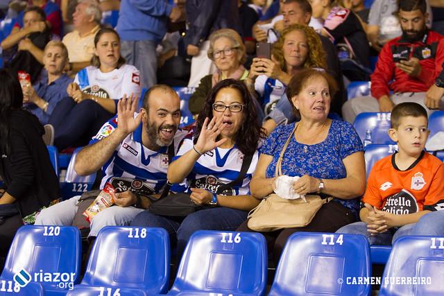 La afición en el Deportivo - Eibar
