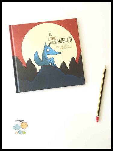Ficha libro El lobo hace huelga. Reseña