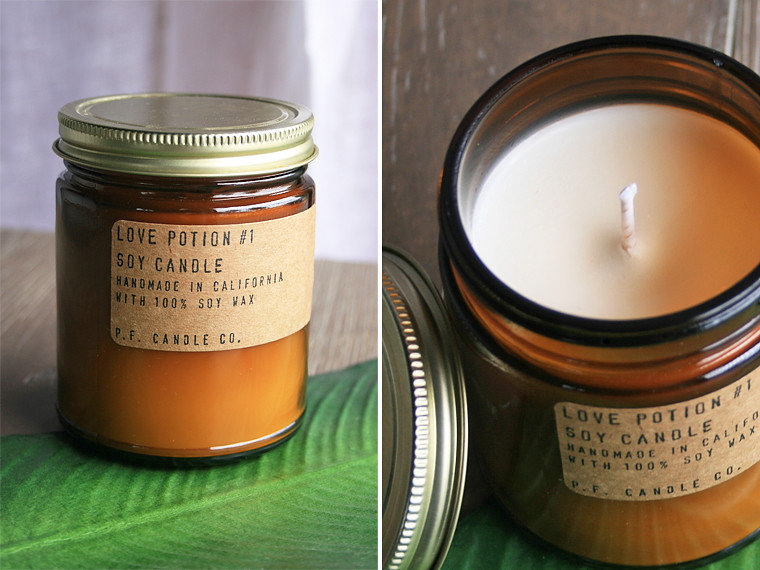 fresh philosophie: p.f. candle co.