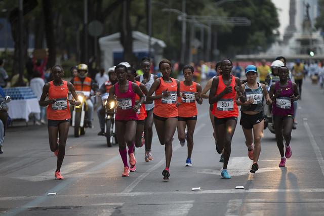 XXXIV Maratón Internacional de la Ciudad de México