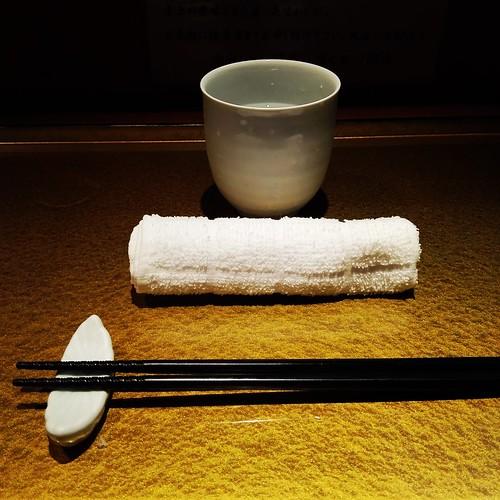 麺屋 音@北千住、料亭みたいなテーブルセット