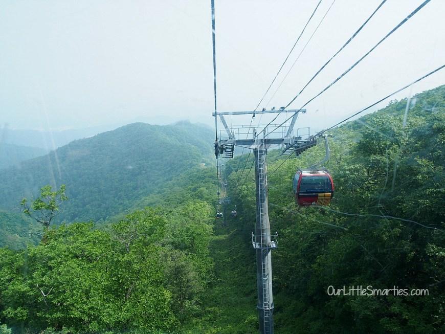 Yong Pyong Cable Car 2