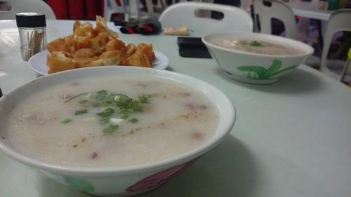 pork porridge kajang