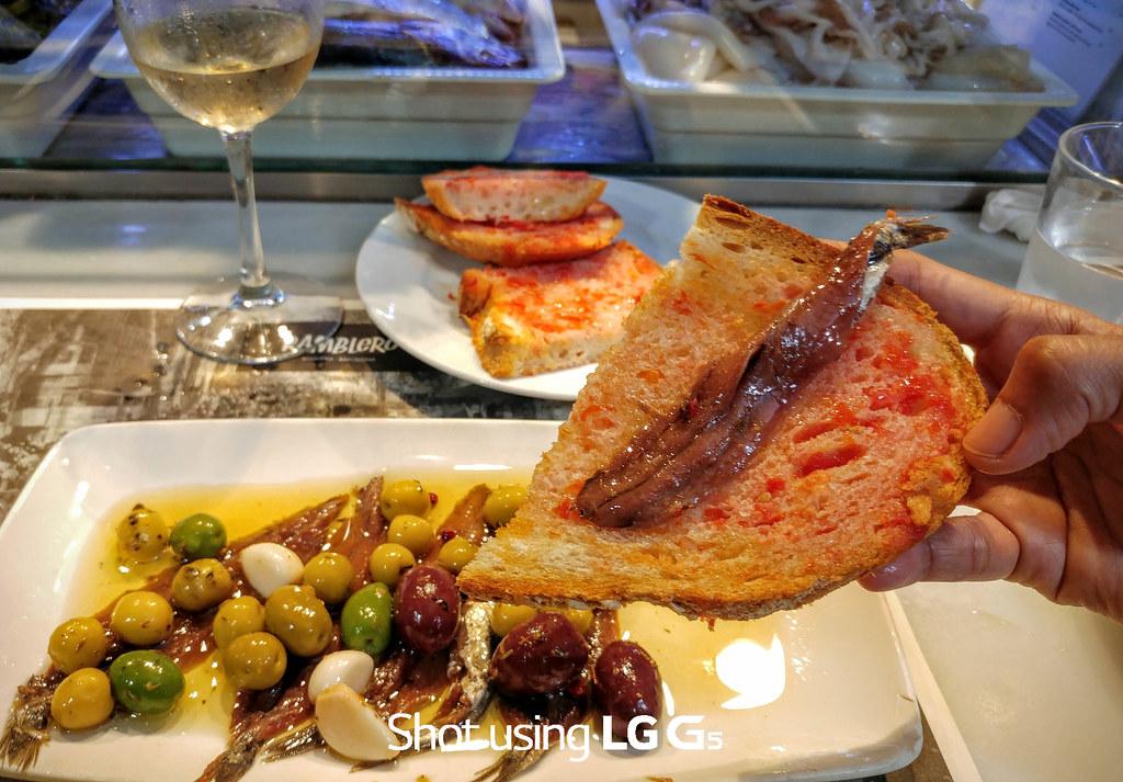 LGG5 Bocarones, Barcelona