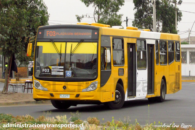 Transantiago F03 | STP Santiago | Caio Mondego H 13.2 - Mercedes Benz / FLXJ41
