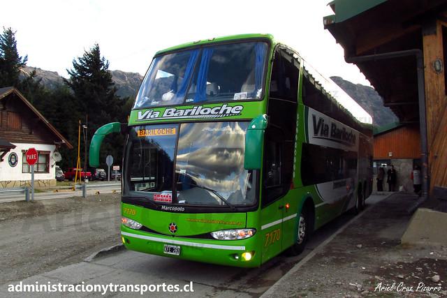 Vía Bariloche | Paso Cardenal Samoré | Marcopolo Paradiso 1800 DD - Mercedes Benz / KFE281 - 7170