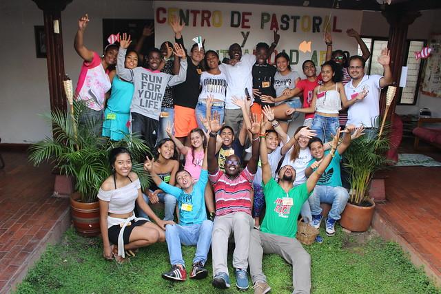 2016-10-22 Integración jóvenes afro y grupo juvenil parroquial