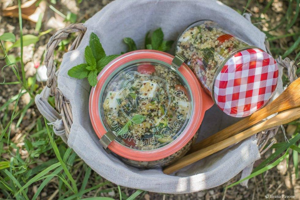 Insalata di quinoa e verdure grigliate. (2)