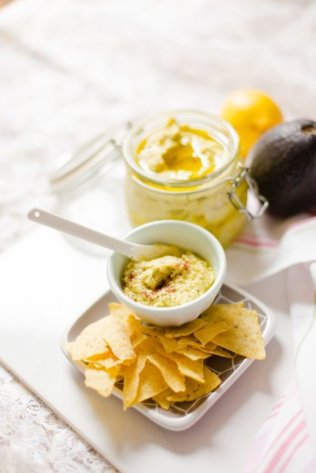 Quick and Easy Avocado Hummus