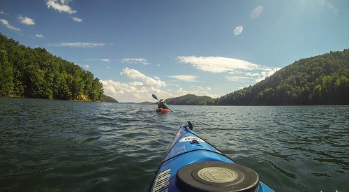 Lake Jocassee with Bennie Waddell-114