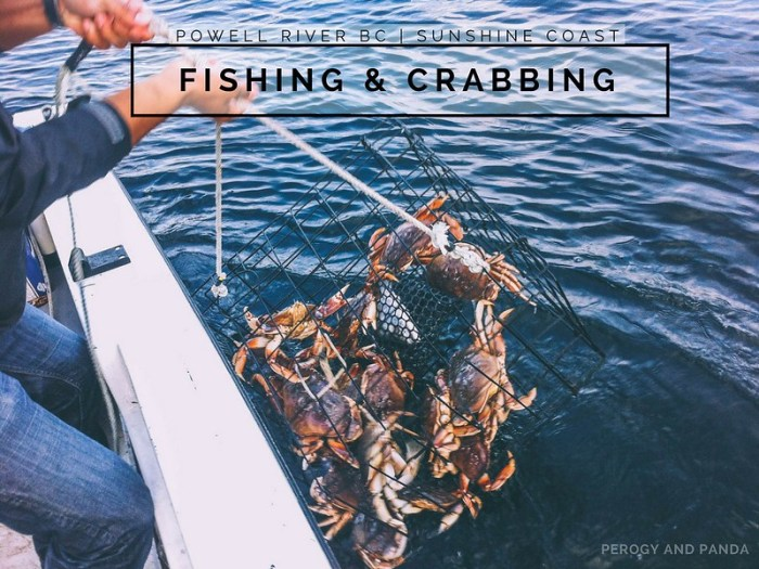 Fishing & Crabbing in Powell River BC