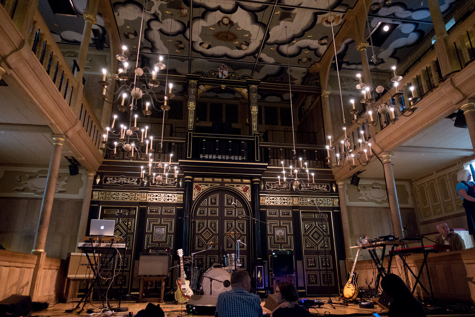 Sam Wanamaker Theatre at the Globe