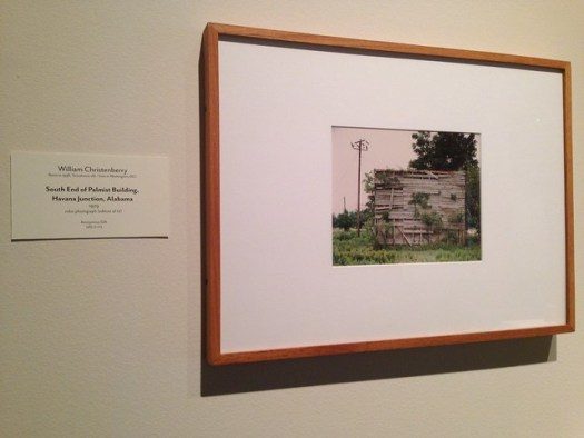 William Christenberry: South End of Palmist Building, Havana Junction AL
