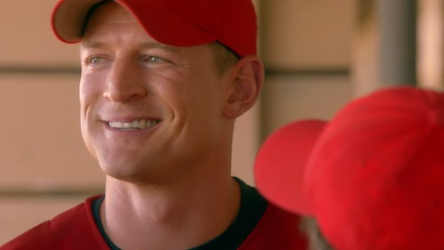 """Philip Winchester as """"Fotch"""" in Undrafted"""