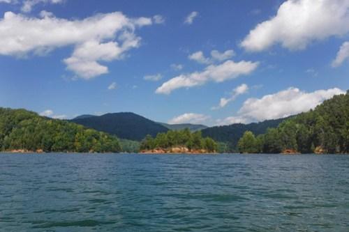 Lake Jocassee with Bennie Waddell-41