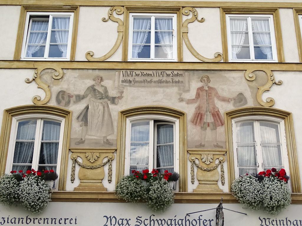 Bad Tolz Murales fachadas casa Alemania 08