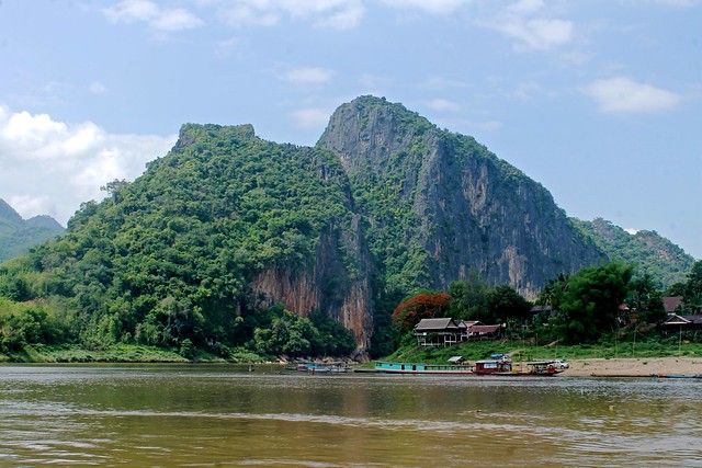 Karst Mountains of Luang Prabang