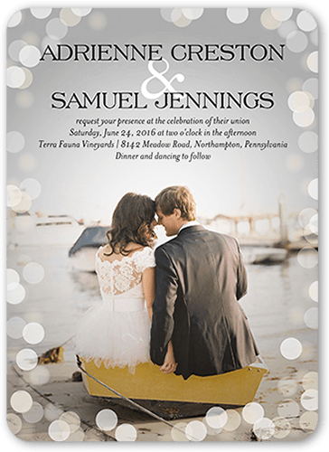 Love In The Air 5x7 Wedding Invitations Shutterfly