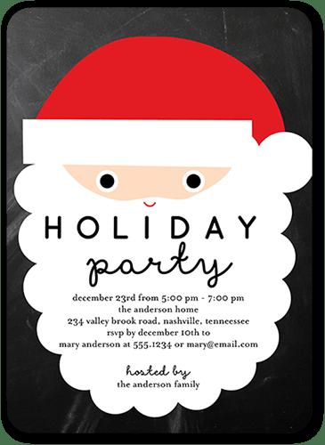 Elegant Christmas Party Invitations Shutterfly