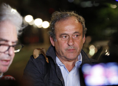 Michel Platini denies wrongdoing as he's released in 2022 World Cup probe