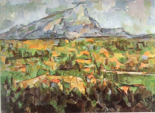 Image result for mont sainte-victoire - paul cezanne