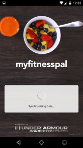 Myfitnesspal - Splash screen stage 2!