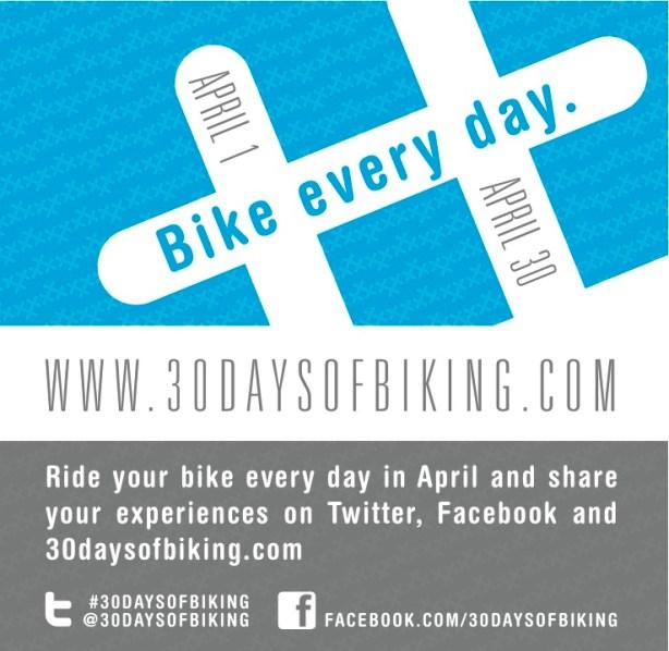 #30daysofbiking