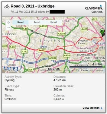 Ride 8, 2011 - Uxbridge