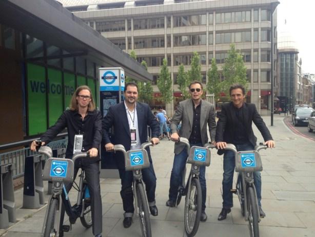 Elon Musk - Tesla, SpaceX, and now, Boris Bikes