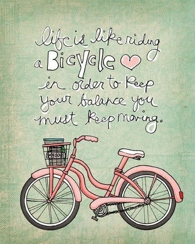 Life & Bicycle - Keep Moving