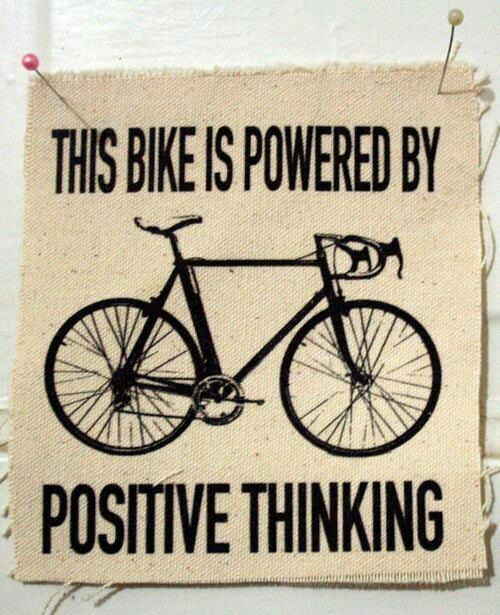 This Bike Is Powered By Positive Thinking