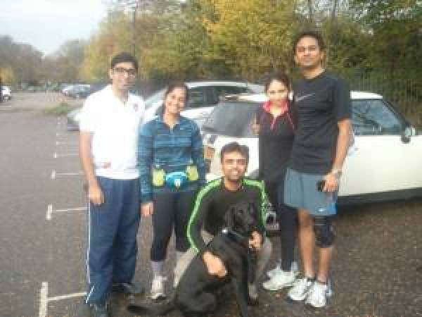 Richmond Park Run 1 +  BITSAA 2014 Run