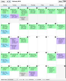 February 2015 - Half Marathon + Cycling Starts