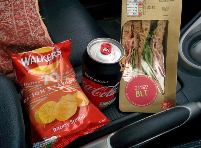 Lunch meal deal from Tesco