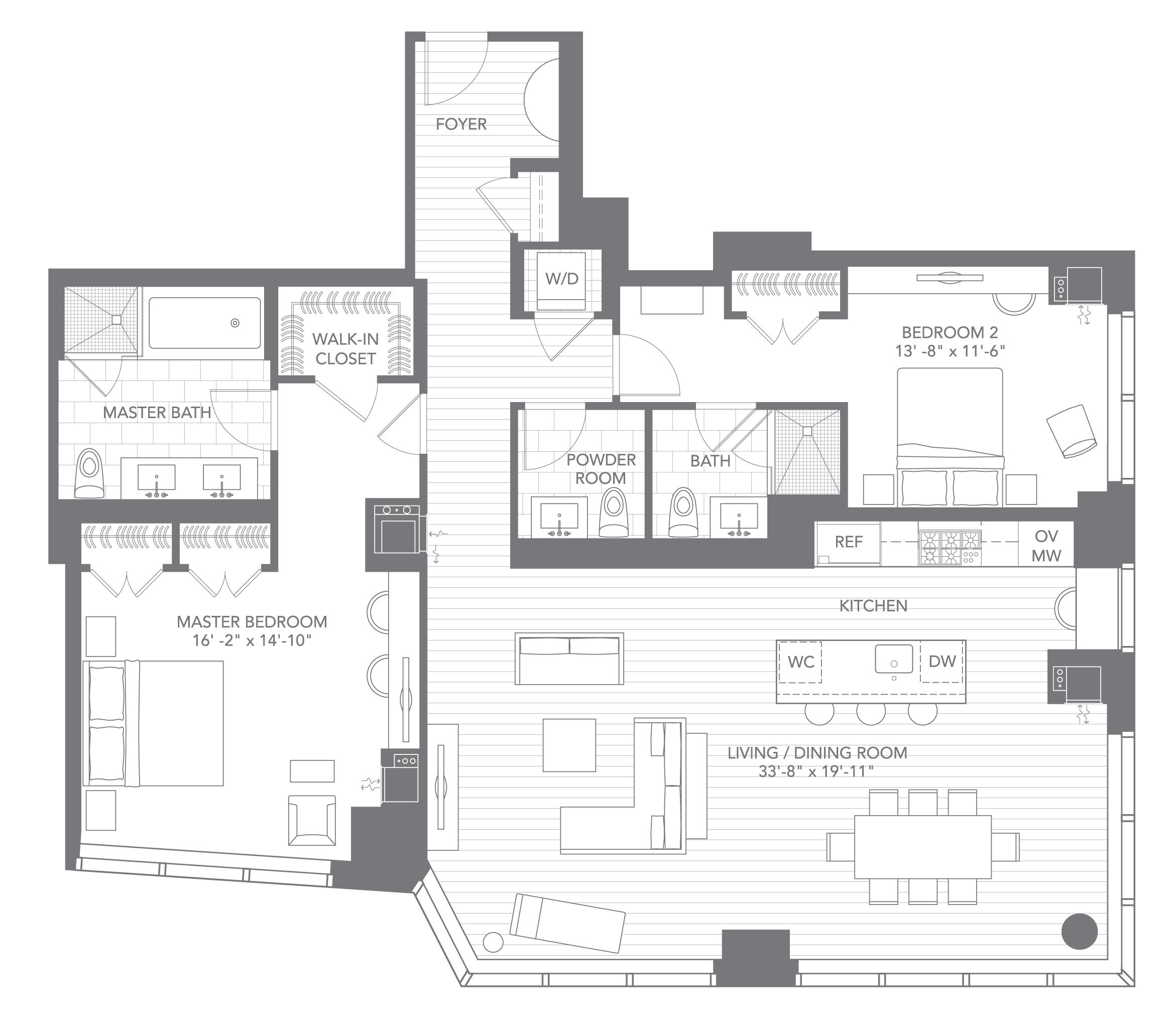 Kitchen Floor Plan 10 By 10 Extravagant Home Design