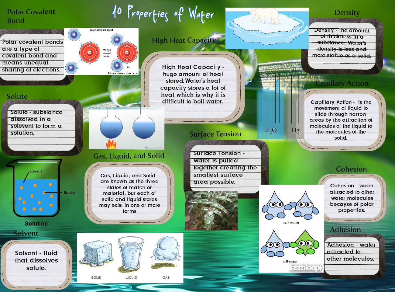 10 Properties Of Water 10 Chemistry En Properties
