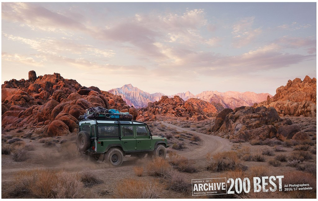 Erik Almas Luerzers Archive 200 Best Advertising photographers WorldWide Range Rover