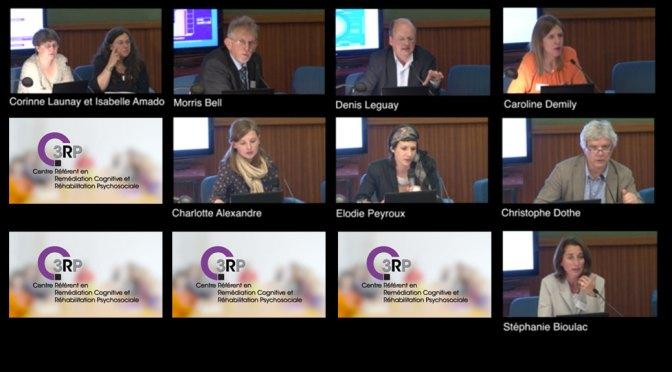 vidéos de la deuxième journée du C3RP : réhabilitation socioprofessionnelle