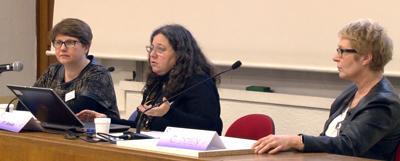 Isabelle Amado, Corinne Launay et C. Doyen-Responsables du C3RP