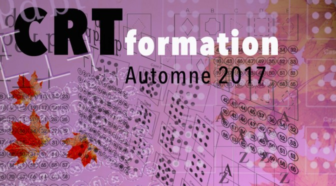 Formation CRT, Cognitive Remediation Therapy, Automne 2017