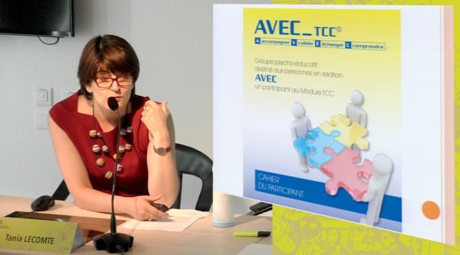 AVEC_tcc présenté par Tania Lecomte – vidéo 7ème journée c3rp