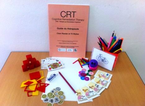 CRT - papier crayon, matériel